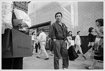 Ginza, Tokyo, June 4, 2004: click for larger image and comment