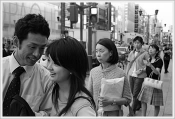 Ginza, July 2, 2004: click for larger image