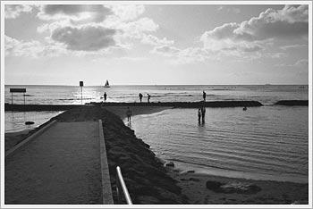 Waikiki Beach, January 2004: click for galleries