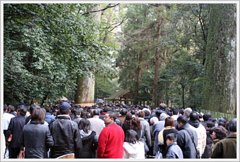 Ise Shrine, Mie Prefecture: click for larger