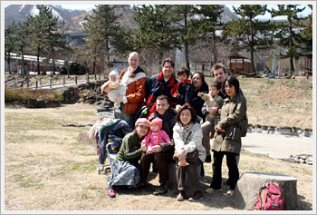Group at Minakami, Gunma: click for gallery