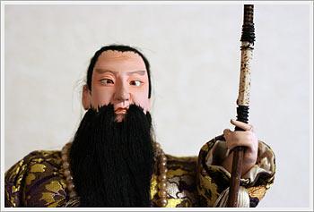 Emperor Jimmu doll