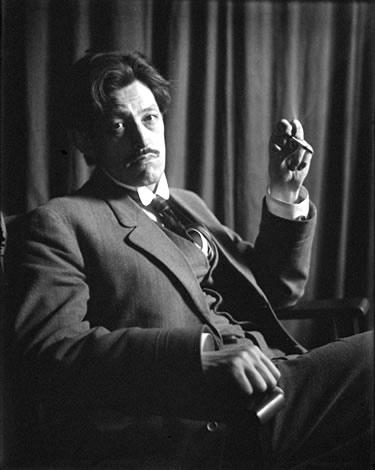 Sadakichi Hartmann, photographed by William M. Vander Weyde