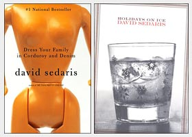 Two books by David Sedaris