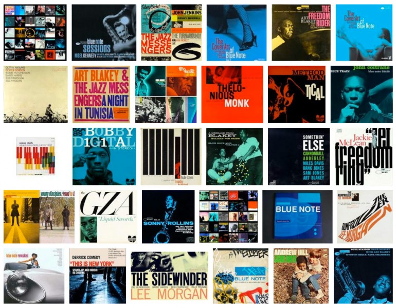 Blue Note Records Covers